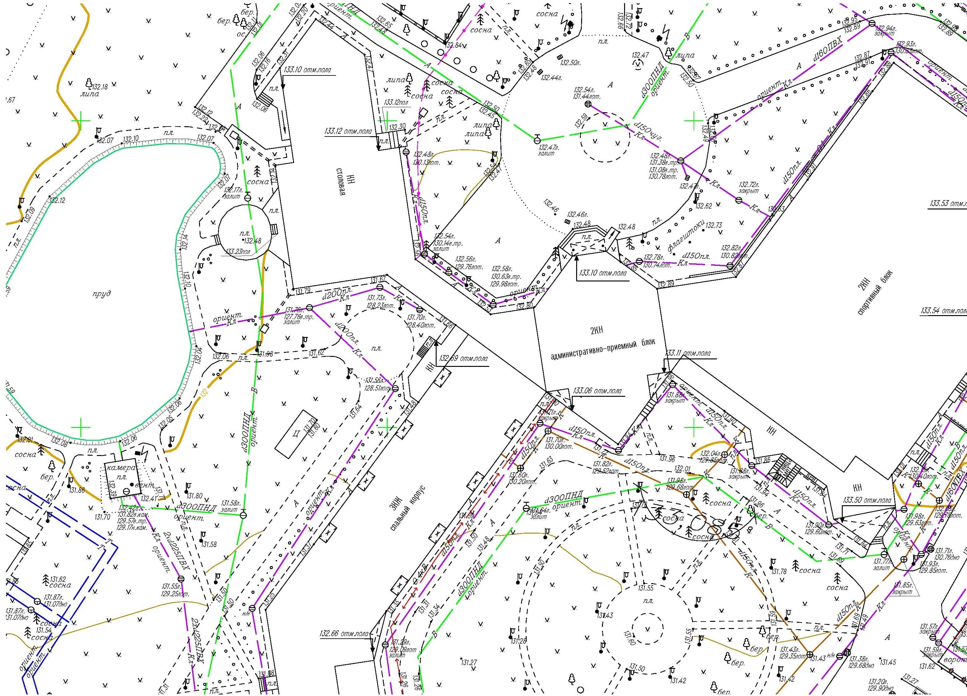 Создание инженерно-топографических планов